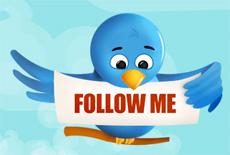follow твиттер